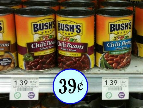 Bush S Chili Beans Just 39 At Publix