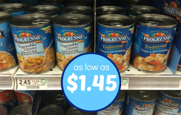graphic regarding Printable Progresso Soup Coupons called Progresso soup printable coupon 2018 / 6pm footwear coupon