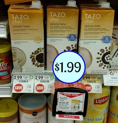 Tazo Chai Latte Concentrate or