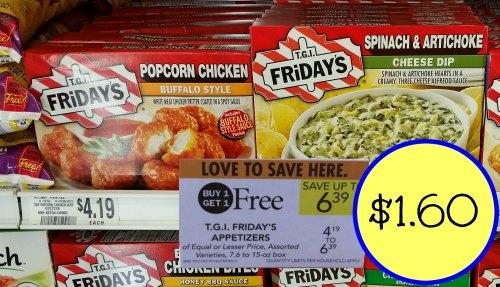 Tgi fridays frozen appetizers printable coupons
