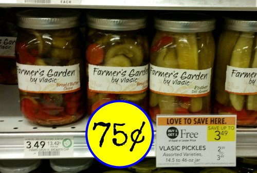 Vlasic farmer 39 s garden pickles i heart publix for Vlasic farmer s garden pickles