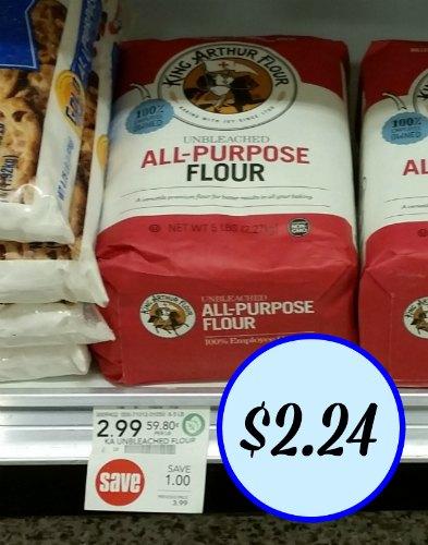 image about King Arthur Flour Printable Coupon named King Arthur Flour Coupon For Publix Sale - Simply $2.24
