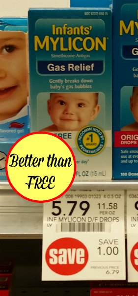 Mylicon Infants Gas Drops - Better Than FREE At Publix