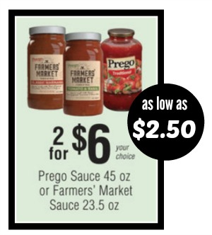 Prego coupons