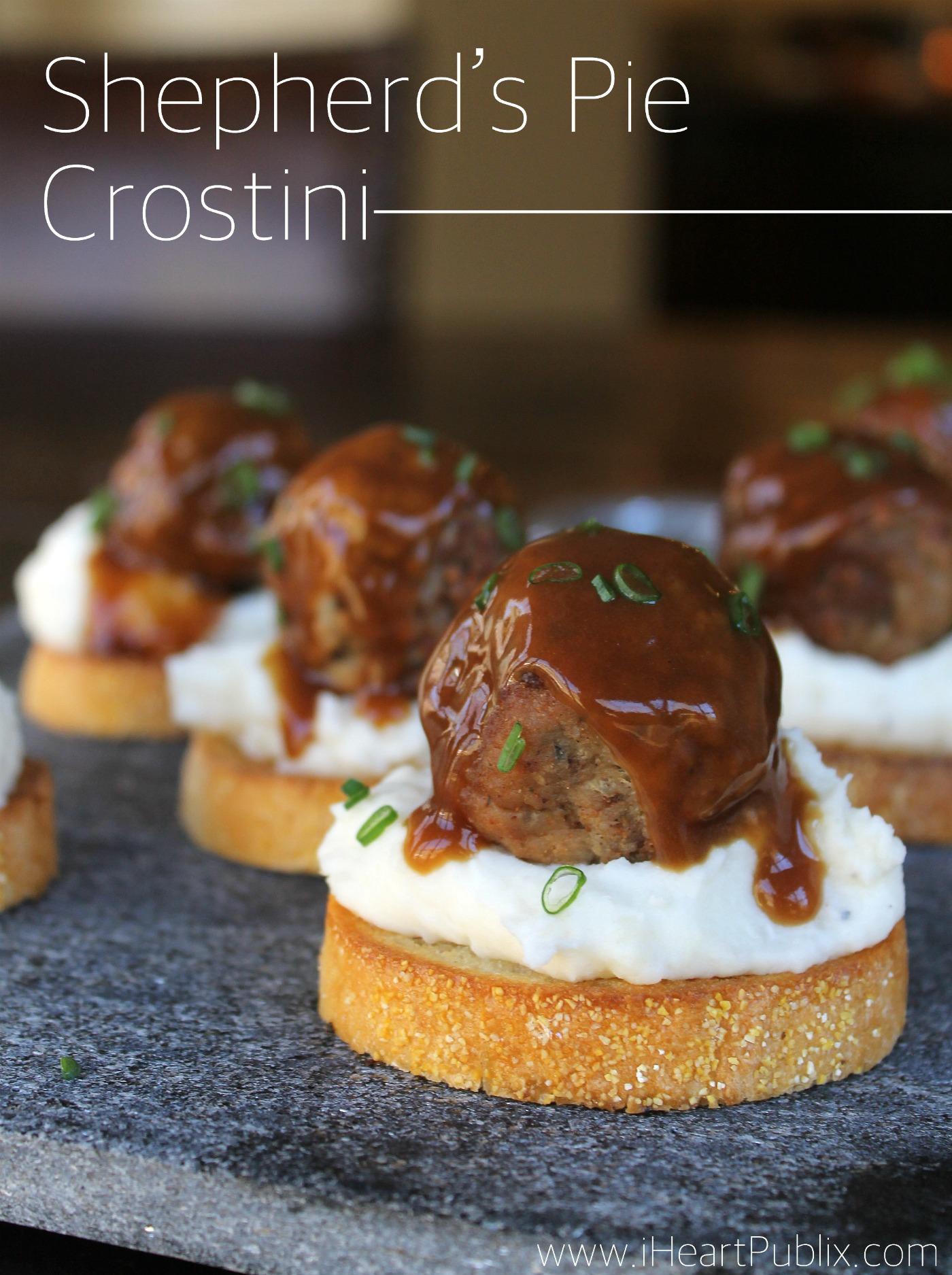 Shepherd's Pie Crostini