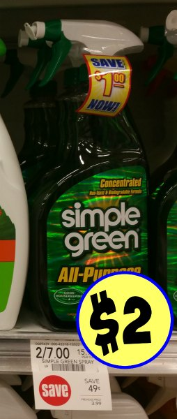 if you are a fan of simple green cleaner you will want to grab this deal head over and print your simple green product coupon grab it at publix for half