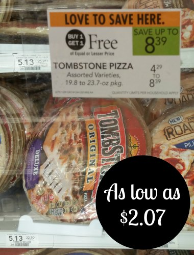 Tombstone Pizza Coupon I Heart Publix