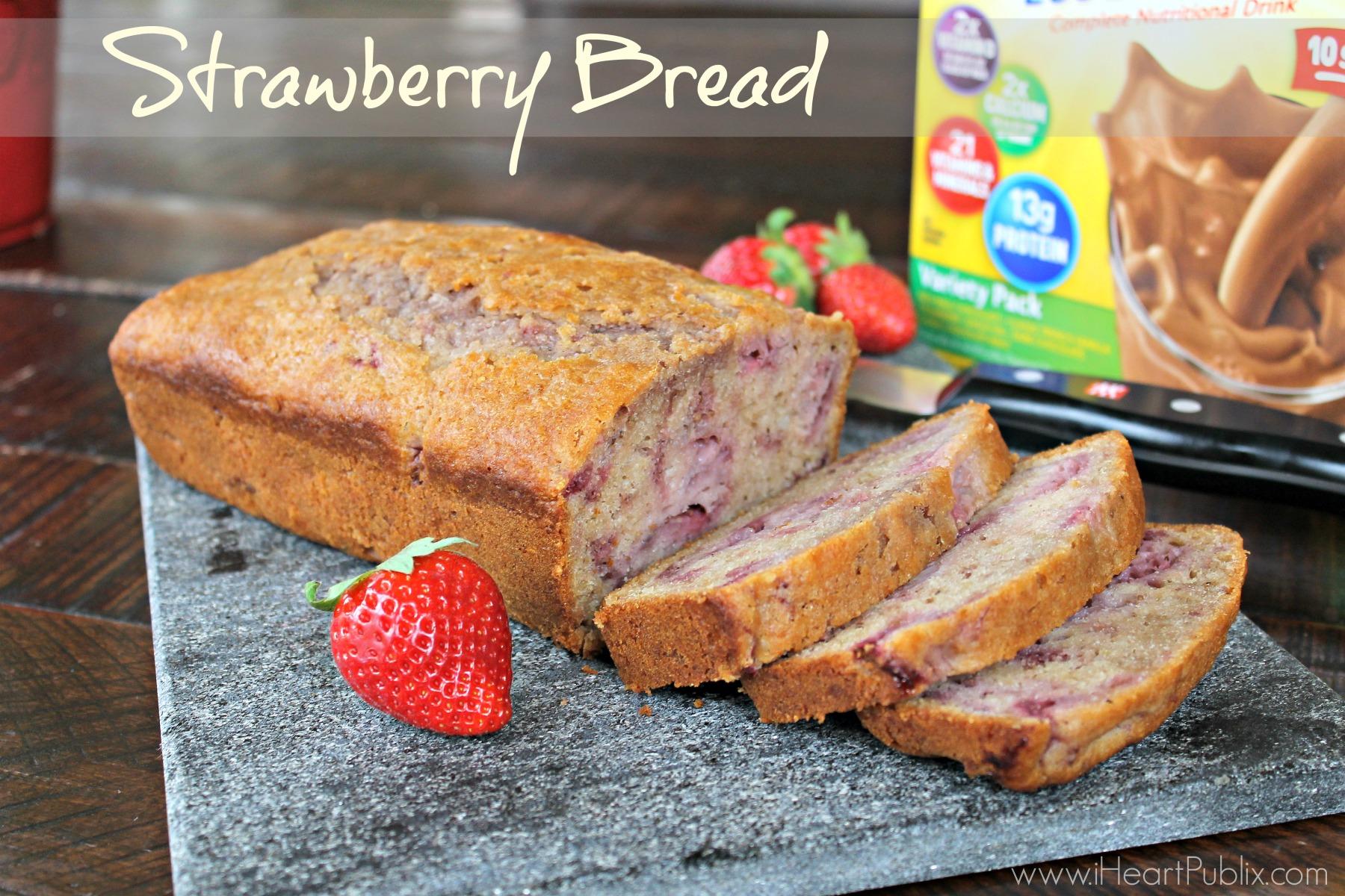 Strawberry Breakfast Bread