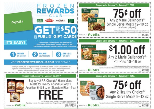Frozen Rewards Club, I Heart Publix
