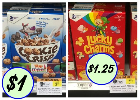 image regarding General Mills Coupons Printable named Cereal Offers At Publix - Cookie Crisp Basically $1 At Publix
