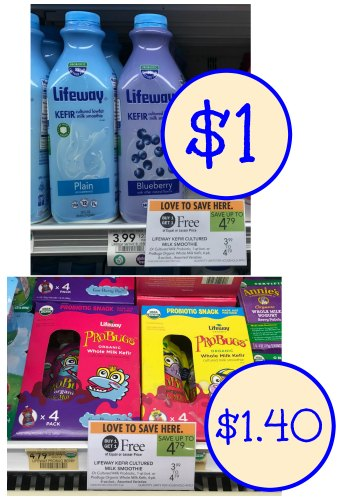 graphic relating to Lifeway Coupon Printable known as Lifeway Kefir Smoothie or ProBugs Coupon codes For Publix BOGO