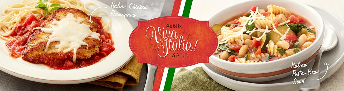 Viva italia i heart publix the viva italia sale is back at publix we get two weeks to pick up fantastic deals on some of the best ingredients to help us create delicious home cooked forumfinder Images