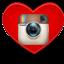 heart insta