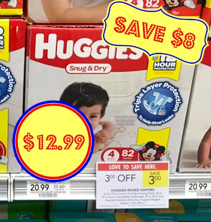 image relating to Printable Coupon $3 Off Pull Ups named Huggies Boxed Diapers - Basically $12.99 At Publix (Help save $8!)