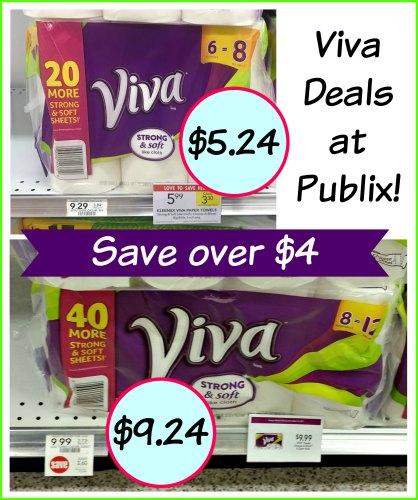 New Viva Paper Towels Coupon For Our Publix Sales Save