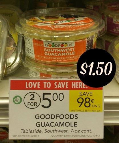 Good Foods Guacamole Coupons