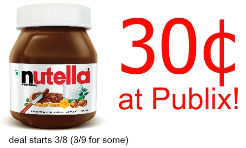 photo regarding Nutella Printable Coupon named nutella coupon, I Center Publix
