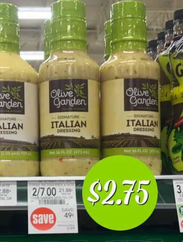 Olive garden dressing publix sale coupon just - Olive garden coupons august 2017 ...