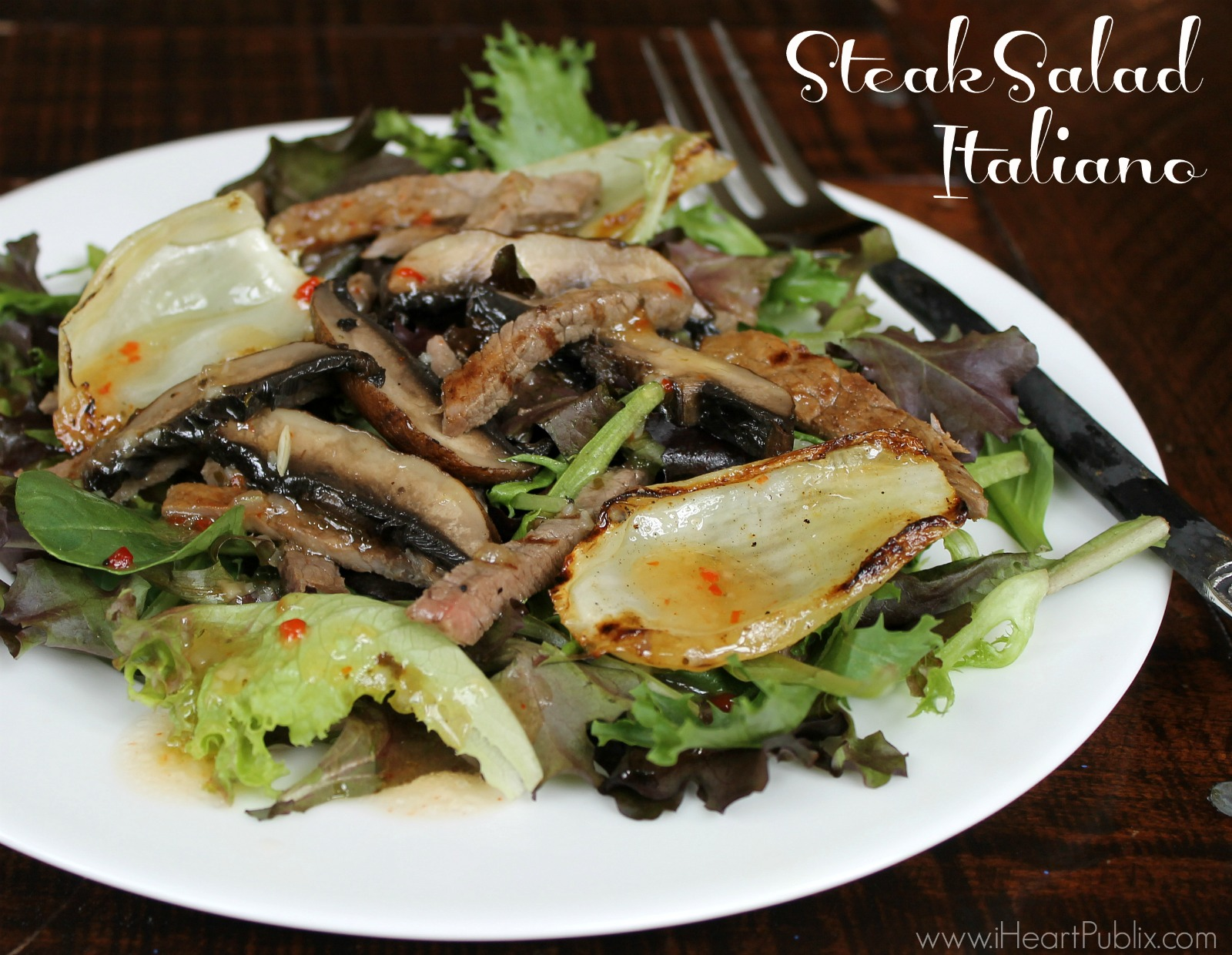 Steak Salad Italiano