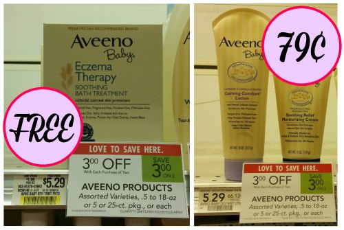 Aveeno Baby Deals At Publix - FREE Baby Eczema Soothing Bath Treatment