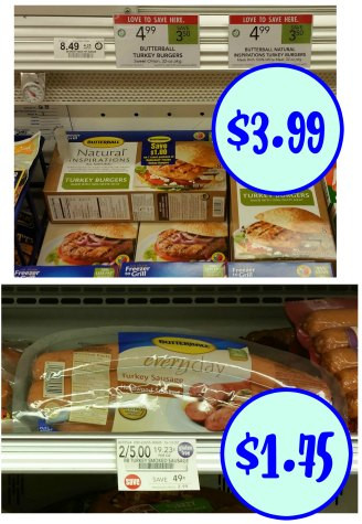 Butterball Coupons For The Publix Sales - Turkey Burgers