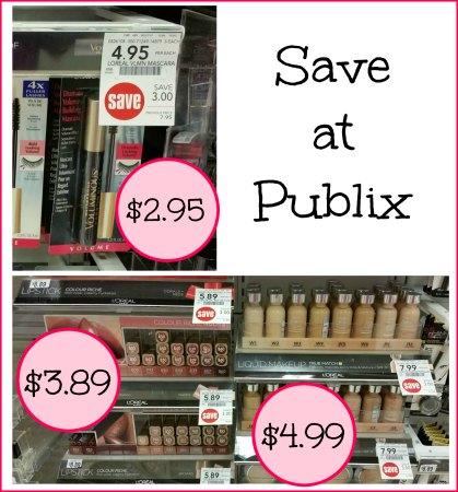 L'Oreal Cosmetics - Mascara Just $2.95 At Publix