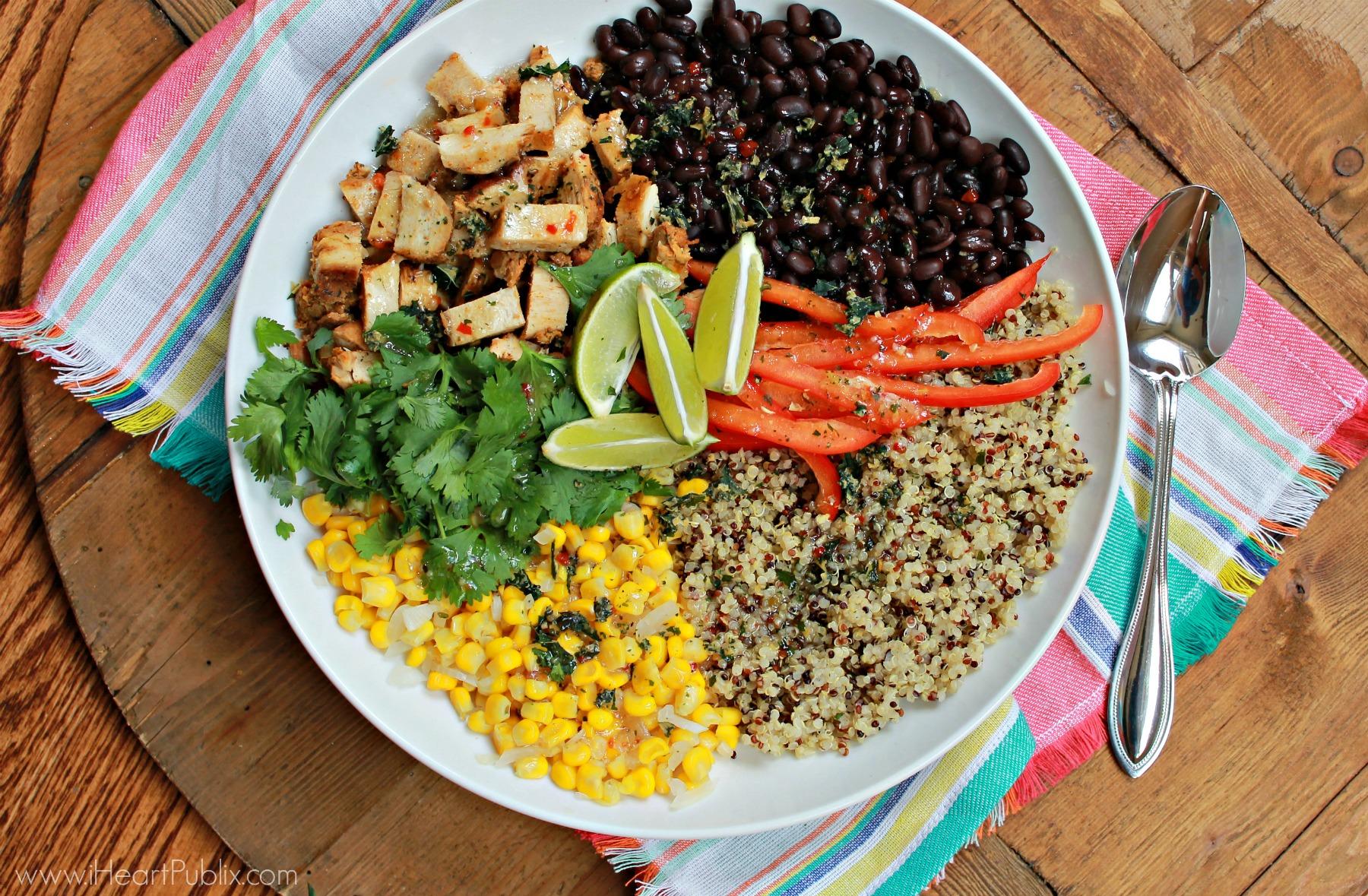 Southwestern Chicken Combo Salad
