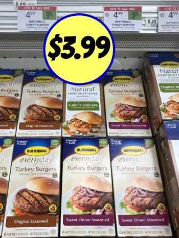 Butterball Turkey Burger Coupon I Heart Publix