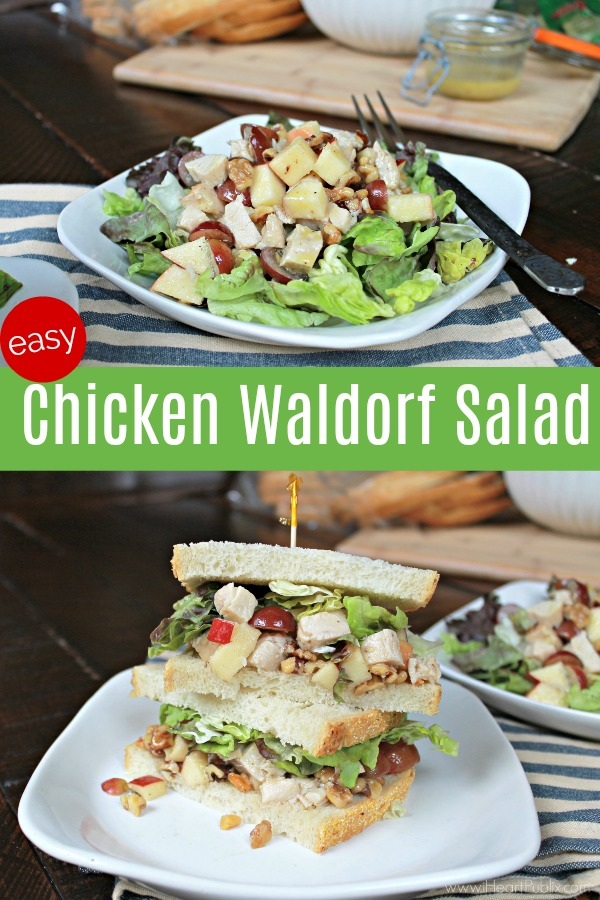 Easy Chicken Waldorf Salad