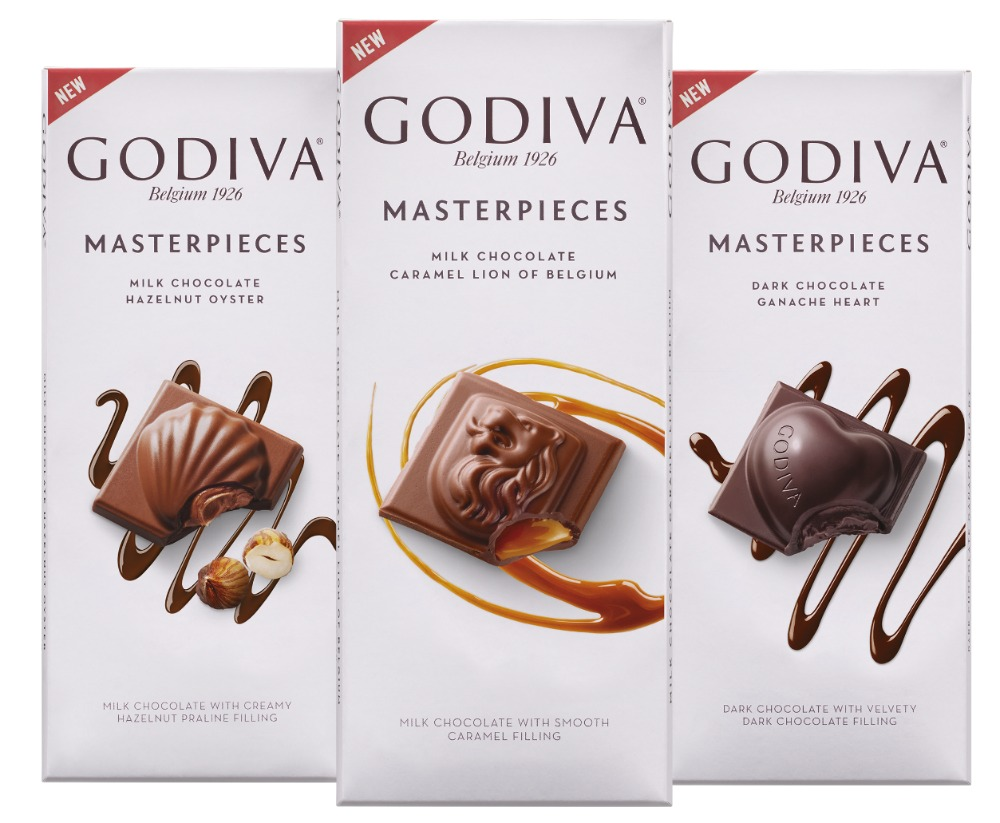 New godiva masterpieces chocolate available at publix for Go diva