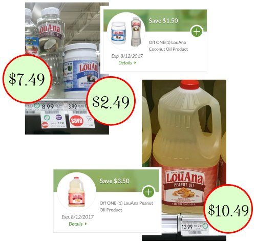 coupons for peanut oil