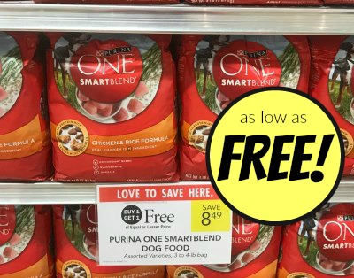 picture about Purina One Printable Coupon called Purina A person SmartBlend coupon, I Centre Publix