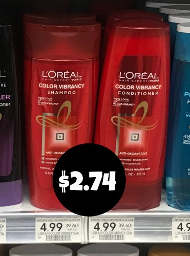 L'Oreal Paris Hair Expert Shampoo or Conditioner - As Low As $2.74 At Publix