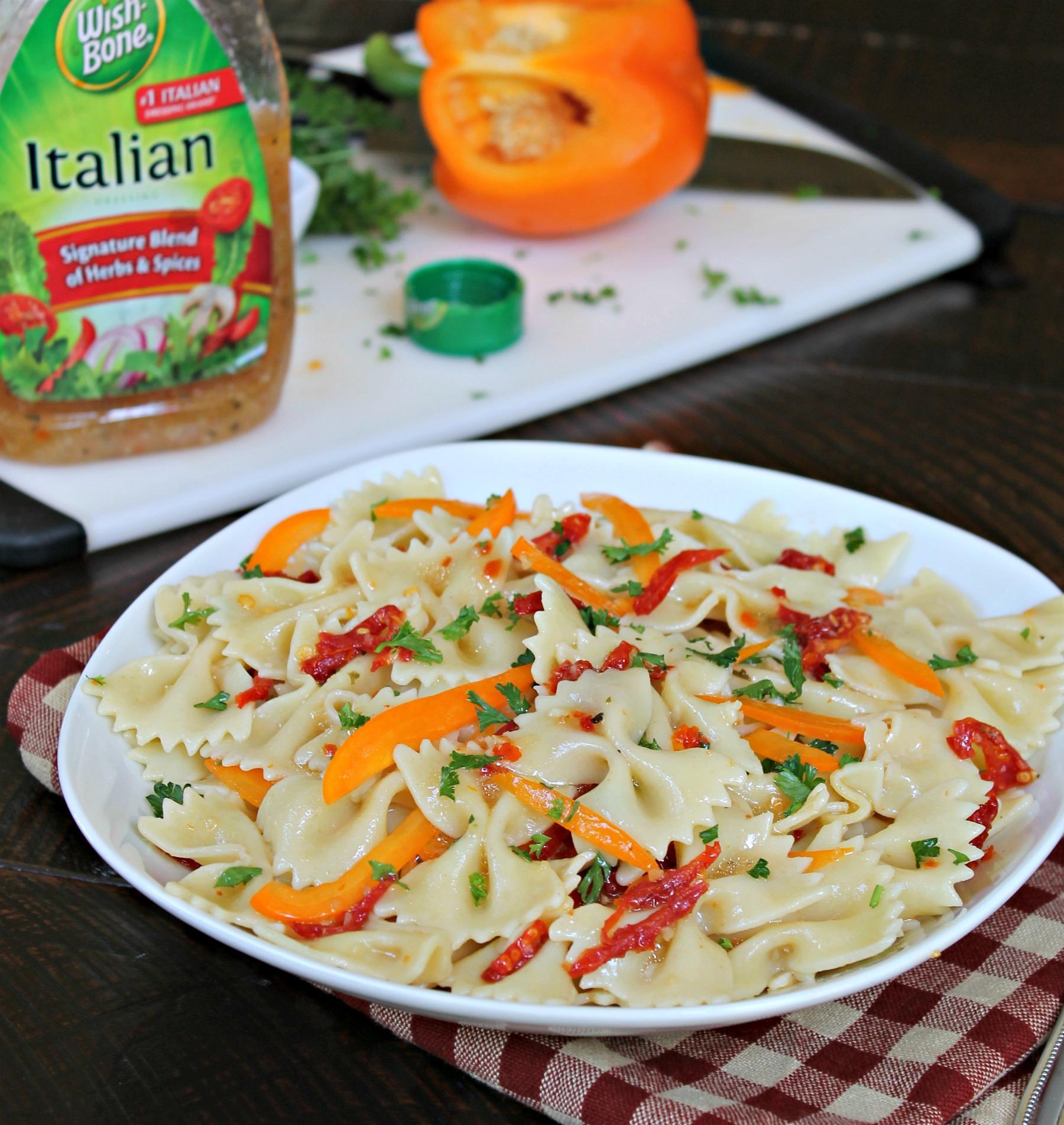 Sun-Drenched Italian Pasta Salad