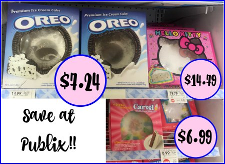 Carvel Amp Oreo Ice Cream Cake Deals As Low As 6 99