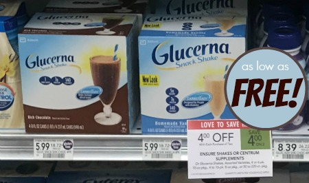 We have an awesome deal on Glucerna Shakes at Publix. This week they are on sale with coupons to pair up. Grab your coupons and pick them up for FREE at ...