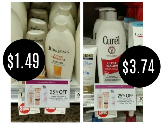 New Jergens & Curel Coupons For The Publix Sales
