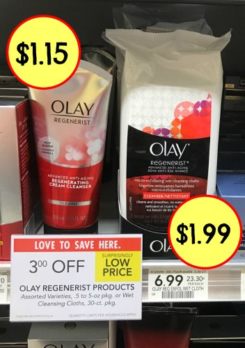 olay coupons, I Heart Publix