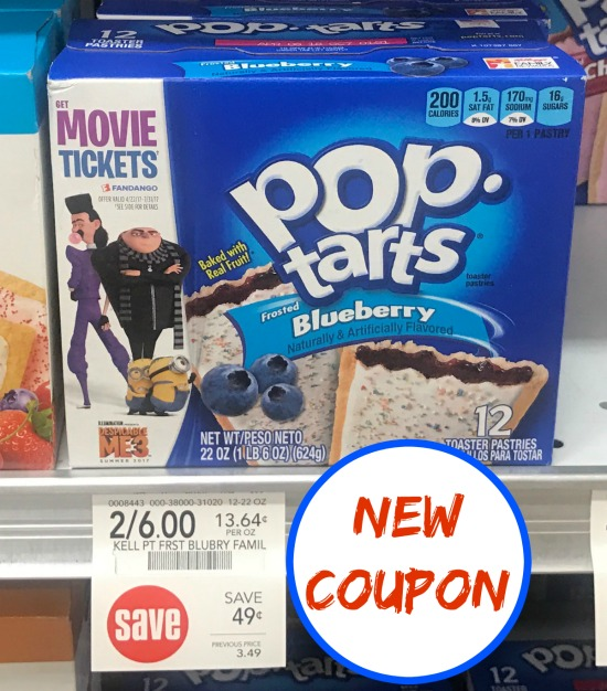 image regarding Pop Tarts Coupon Printable named pop tarts coupon, I Center Publix