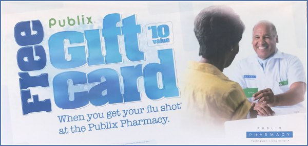 Does publix give free flu shots