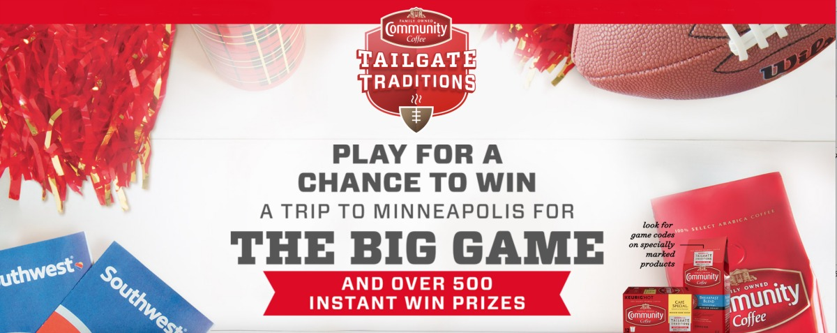 The Community Coffee Tailgate Traditions Promo Returns