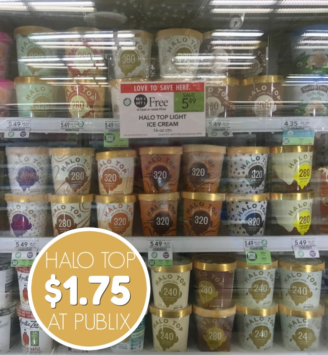 halo top sweepstakes halo top ice cream just 1 75 at publix 5650