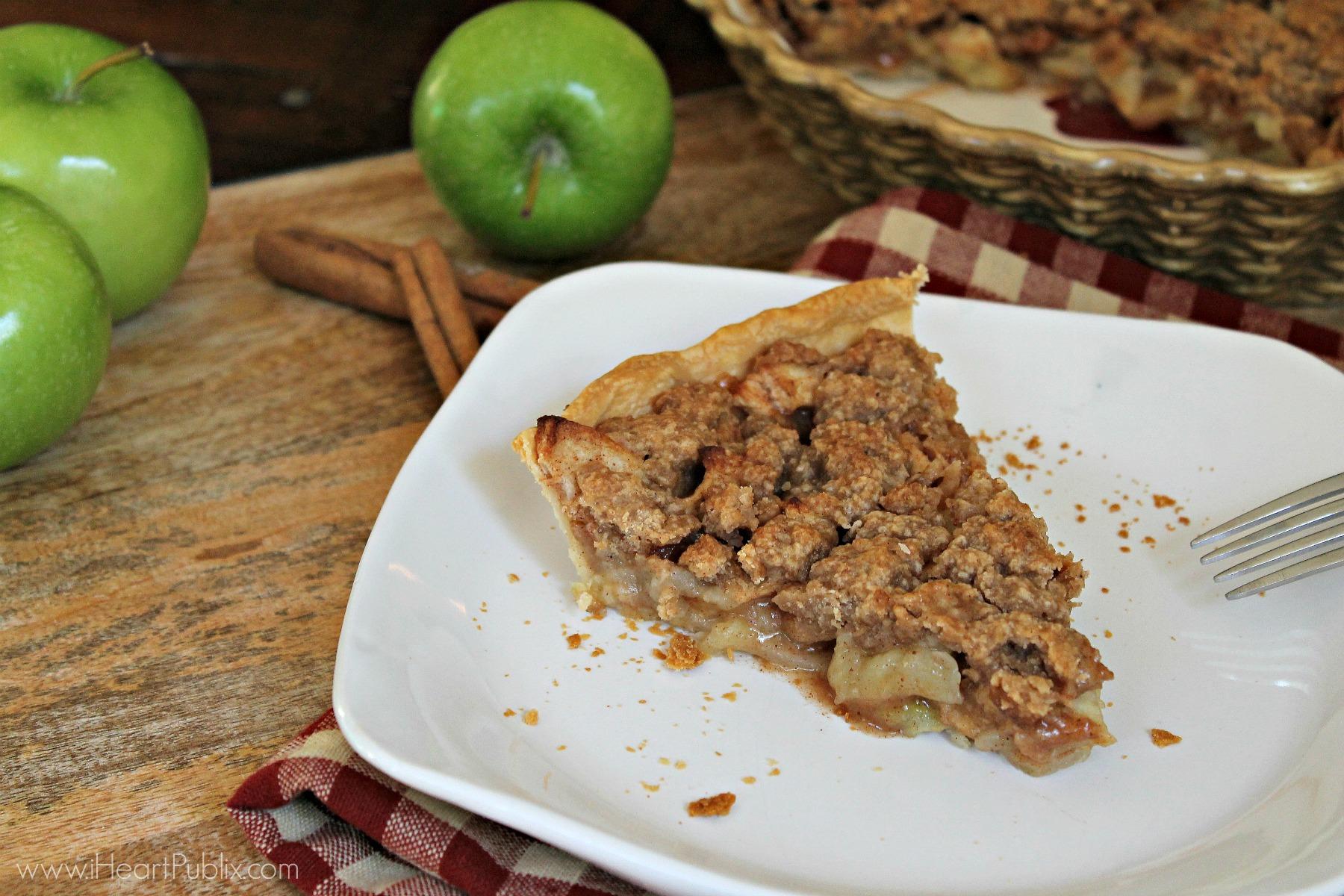 Apple Crumble Pie with Truvia® Brown Sugar Blend and Truvia® Cane Sugar Blend