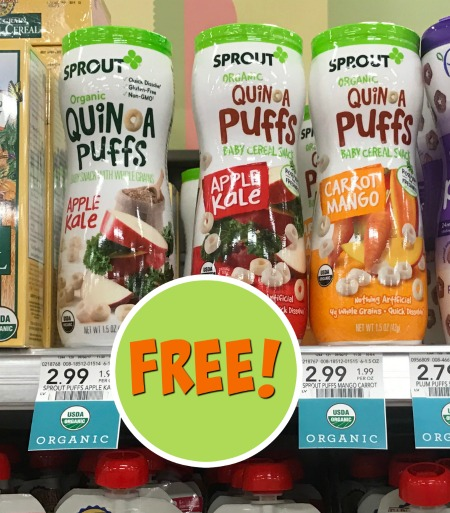 free cheap sprout snacks foods at publix