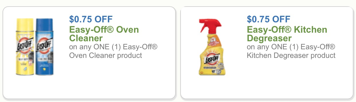 Easy off oven cleaner coupons printable 2018