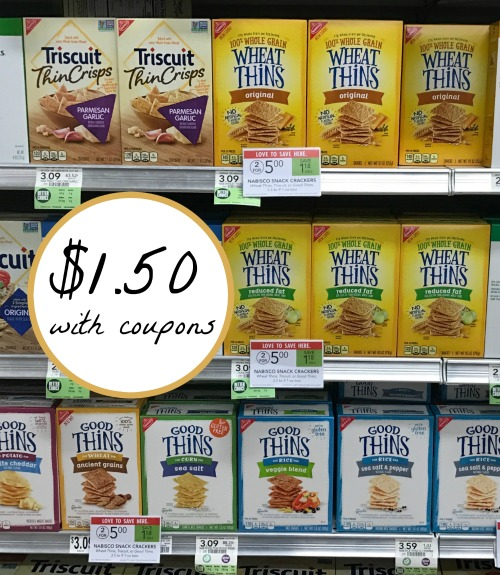 image relating to Nabisco Printable Coupons identify nabisco crackers coupon, I Middle Publix