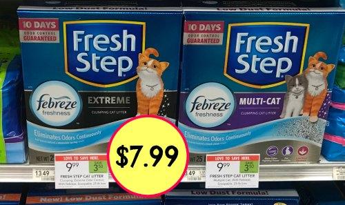 Fresh Step Cat Litter I Heart Publix