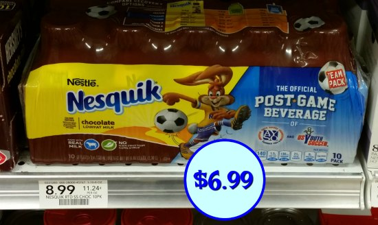 Nestle Nesquik 10 Pack Ibotta Offer - Save At Publix