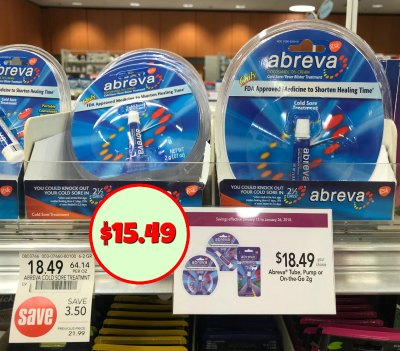 photo regarding Abreva Coupons Printable known as Refreshing Abreva Printable Coupon For The Publix Sale - Help you save Above $6