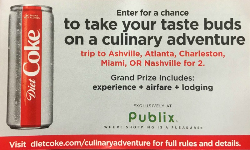 Publix Diet Coke Flavor Starts Here Sweepstakes Enter Through 2 9